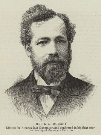 Mr J C Durant