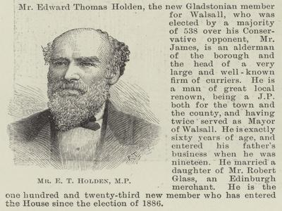 Mr E T Holden
