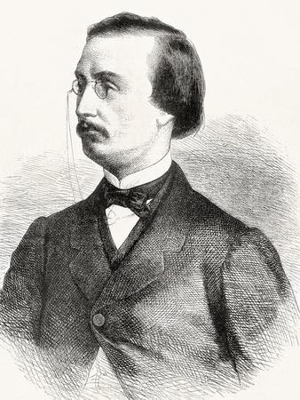 Jules Bara, from 'L'Univers Illustré', 1866