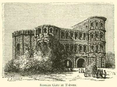Roman Gate at Treves