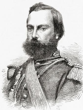Mariano Ignacio Prado Ochoa, from 'L'Univers Illustré', 1866