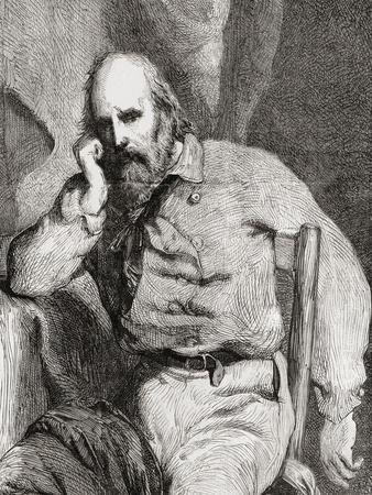 Giuseppe Garibaldi, from 'L'Univers Illustré', 1866