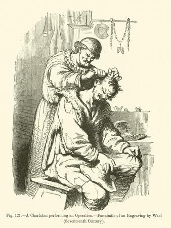A Charlatan Performing an Operation
