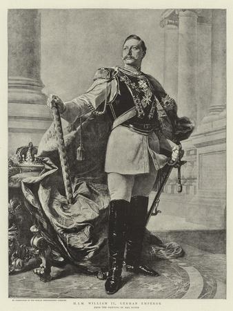 H I M William II, German Emperor