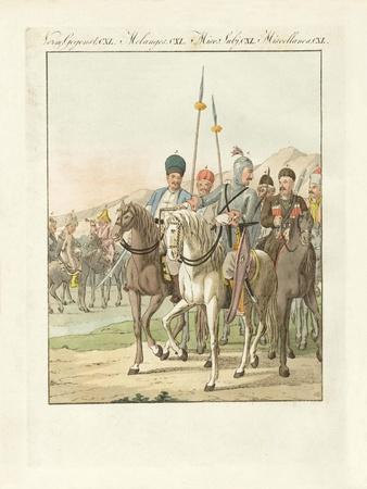 Irregular Lighty Russian Cavalry