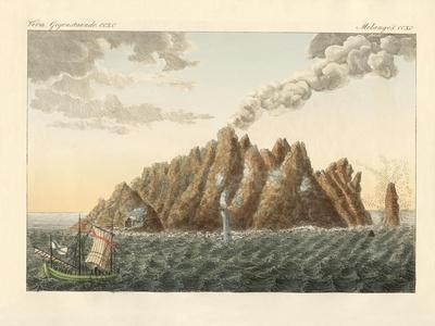 The Volcanic Island of Holy John the Theologian