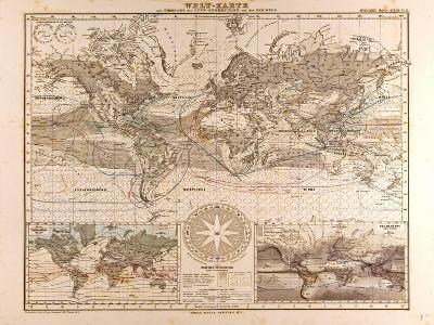 World Map, 1872