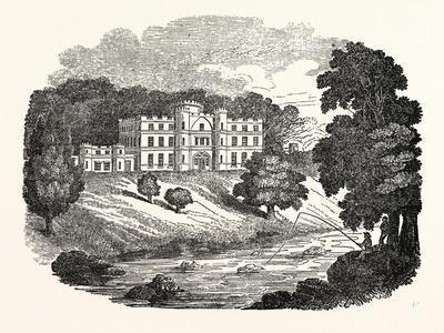 Willersley Castle at Cromford, Derbyshire, UK