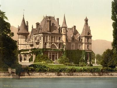 Thun, Shadau Castle, Bernese Oberland, Switzerland, C.1890-C.1900