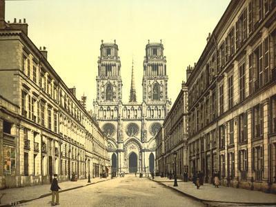 Joan of Arc Street, Orléans, France, C.1890-C.1900