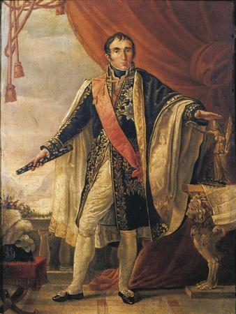 France, Portrait of Jean Andre Massena, French Military Commander