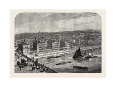 The New St. Thomas's Hospital, London, UK, 1865