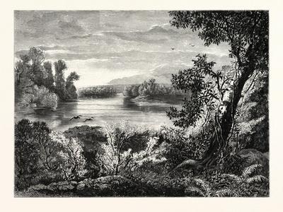 Juniata River, Near Lewistown, 1832 - 1874, USA