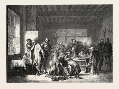 A Quarter of an Hour Rabelais, Painting by Mr Vetter. 1855