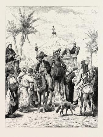 Landed Proprietor Returning from a Pilgrimage. Egypt, 1879