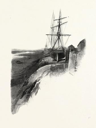 Nova Scotia, Low Tide, Windsor, Canada, Nineteenth Century