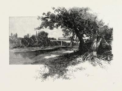 Railroad Bridge, Paris, Canada, Canada, Nineteenth Century