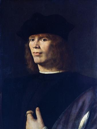 Portrait of Young Man, by Andrea Solario (Ca 1465-1524)