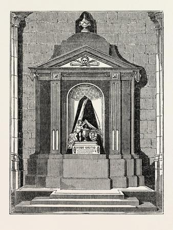 Tomb of Grotius, in the New Church, at Delft, the Netherlands