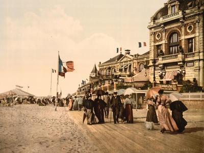 Promenade and Grand Salon, Trouville, France, C.1890