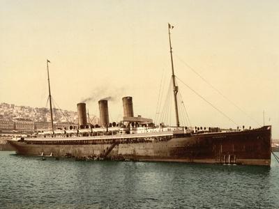 Steamship Normannia, Algeria, C.1899