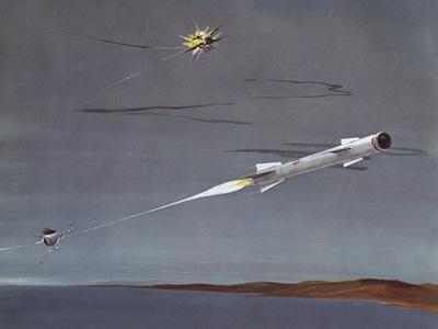 Sidewinder Air to Air Missile
