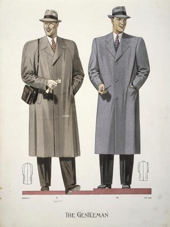 Men's Clothing, 1938