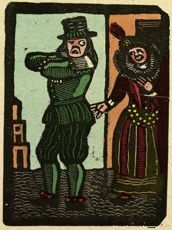 Illustration of English Tales Folk Tales and Ballads