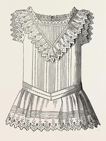 Pinafore for Girl of Three, Front, 1882, Fashion