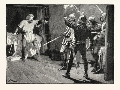 Richard Assailed by the Austrian Soldiers