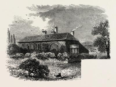Brewster's House at Scrooby, Notts., 1870s