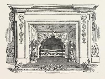 Messrs. Bailey and Son, Fire Place, 1851