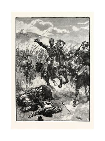 The Black Prince at the Battle of Creçy