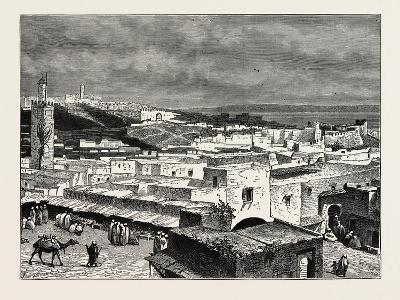 View of Tangiers, from the Landward Side