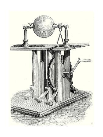 Hauksbee's Second Electric Machine