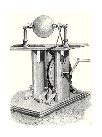Hauksbee's Second Electric Machine