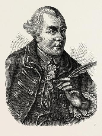 John Wilkes. from an Authentic Portrait