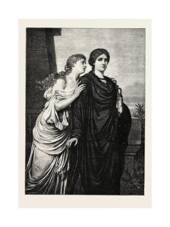 Classical Theme, Ladies, Woman, 1882