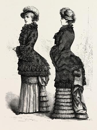 Autumn Mantle, Fashion, 1882