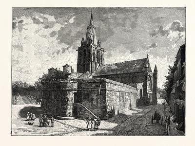 The Church of Notre Dame Calais