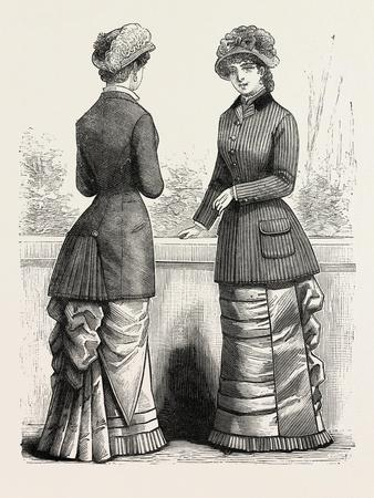 Autumn Jackets, Fashion, 1882