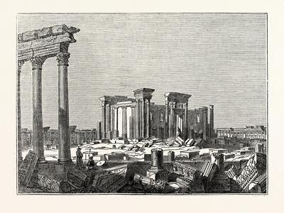 Temple of the Sun at Palmyra