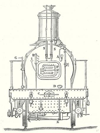 Rear of a Locomotive