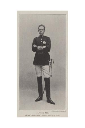 Alfonso Xiii, in the Uniform of a Captain-General of Spain