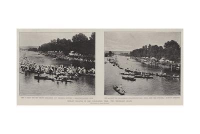 Henley Regatta in the Coronation Year, Two Important Heats