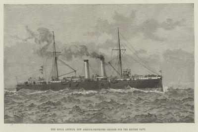 The Royal Arthur, New Armour-Protected Cruiser for the British Navy