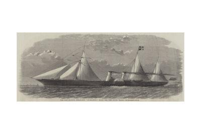 The New Clipper Steam-Ship Ly-Ee-Moon, Built for the Opium Trade