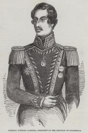 General Raphael Carrera, President of the Republic of Guatemala