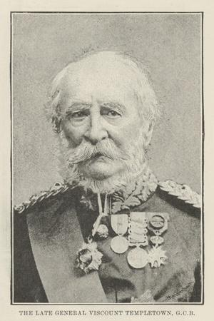 The Late General Viscount Templetown