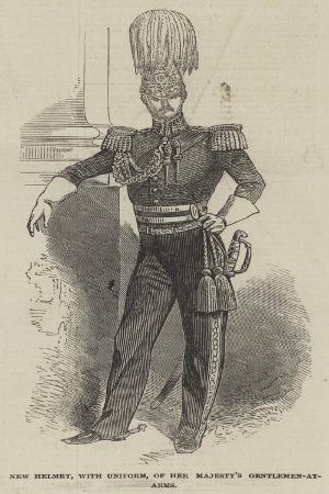New Helmet, with Uniform, of Her Majesty's Gentlemen-At-Arms